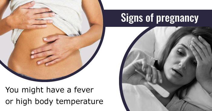 fever or high body temperature