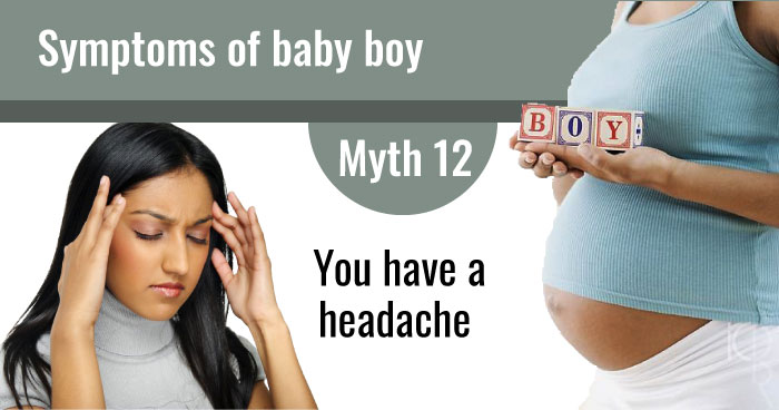 Symptoms of baby boy myths