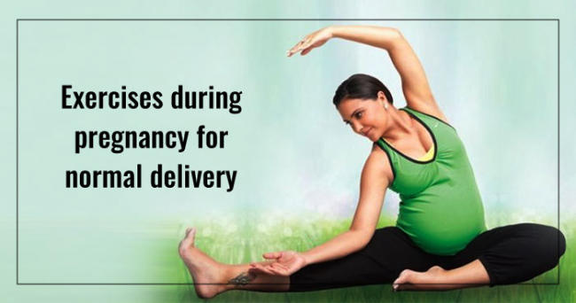 Exercises during pregnancy for normal delivery
