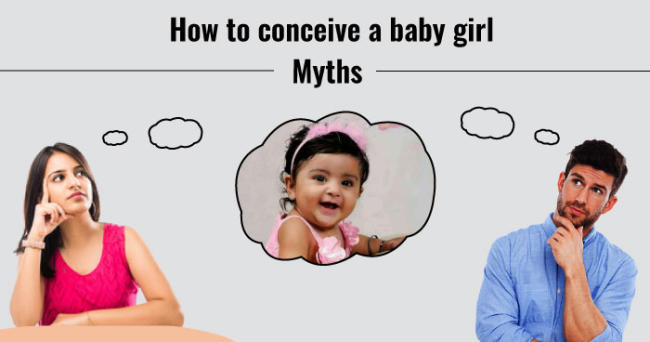 How to conceive a baby girl - Myths