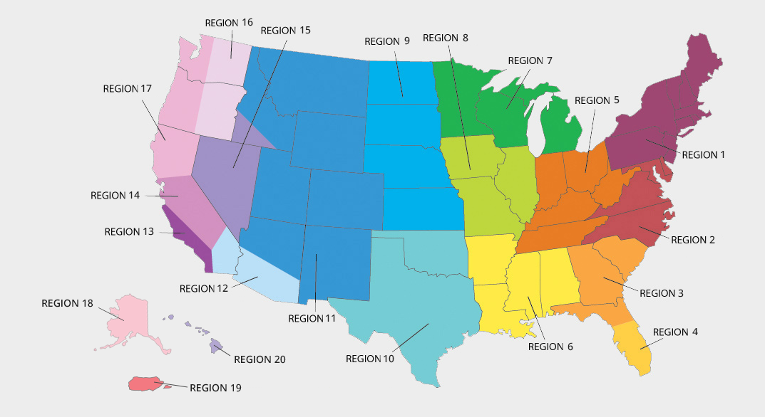Allergy Map Florida.Allergy Testing Common Allergies By State