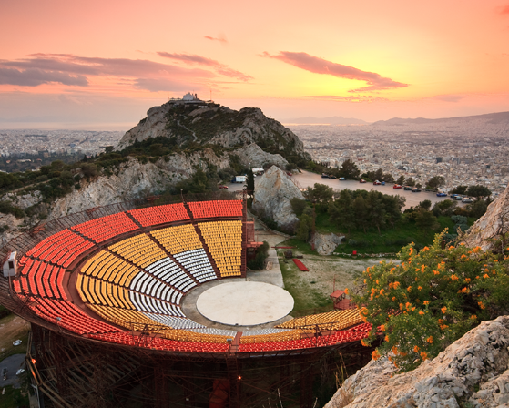 Mount Lycabettus theater