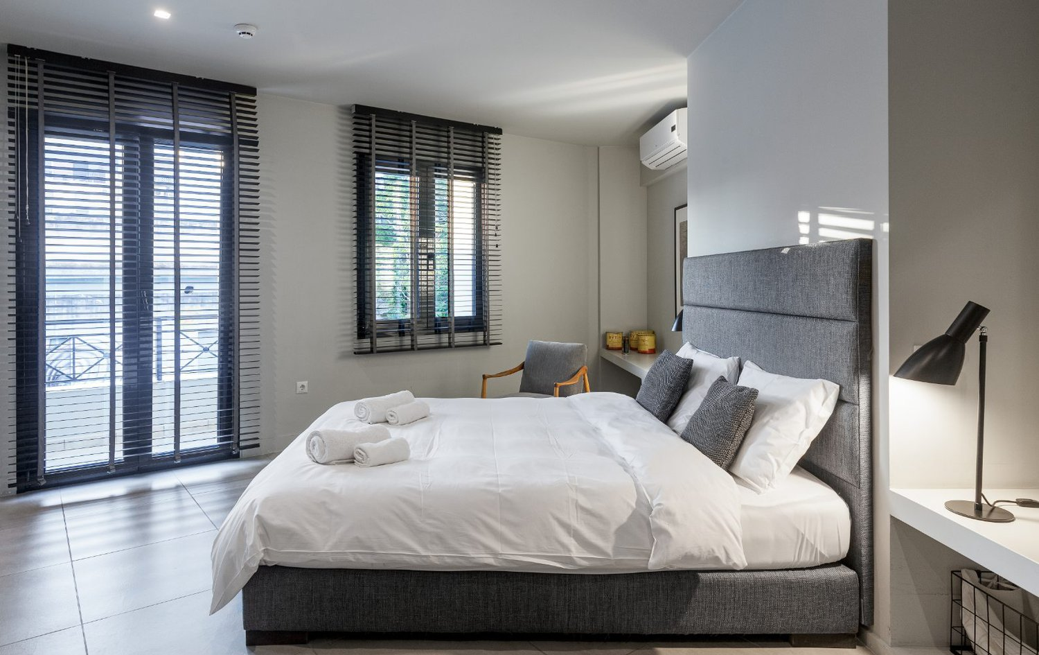The Bedroom in the Premier Suite - Heart of Athens