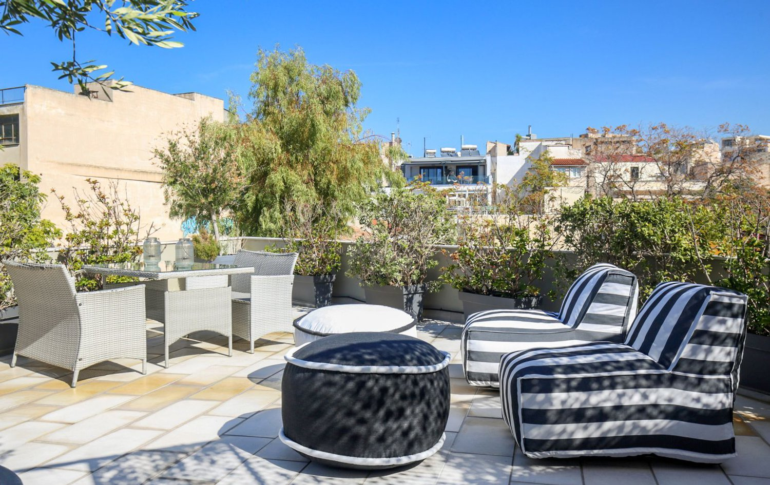 Roof Garden - Heart of Athens