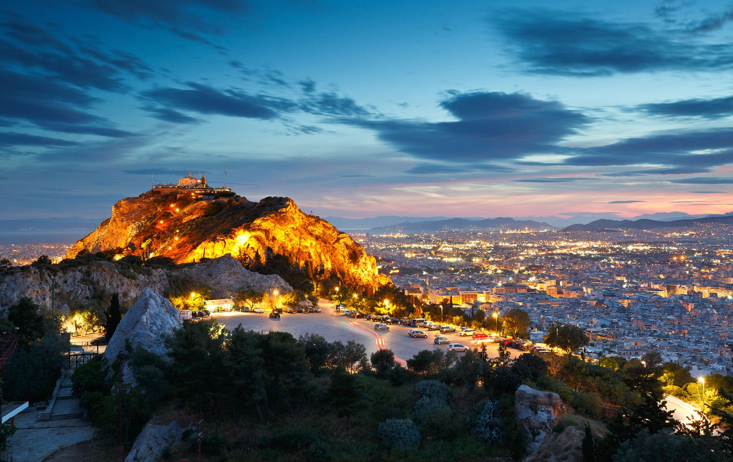 Lycabettus Hill - Heart of Athens