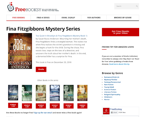 What is a Freebooksy Series Promotion? - Written Word Media