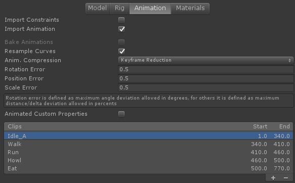 Adding Animations from Unity - Enklu Help