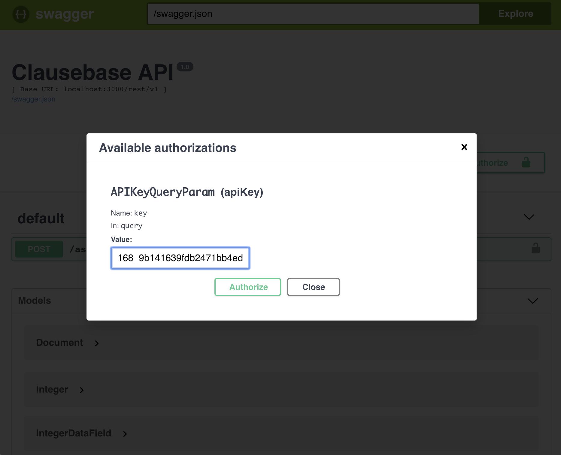 API - ClauseBase