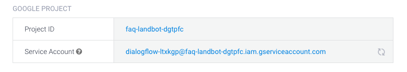 How to create a FAQ in Landbot with Dialogflow API v2 (BETA