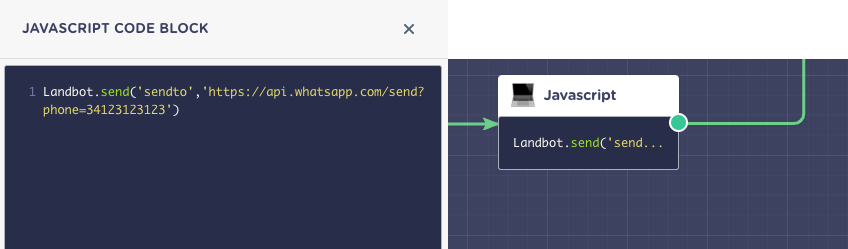 How to add a Click-to-Call/Email/WhatsApp button - Landbot Help
