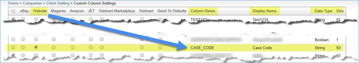 Custom Product Columns - SellerCloud Help