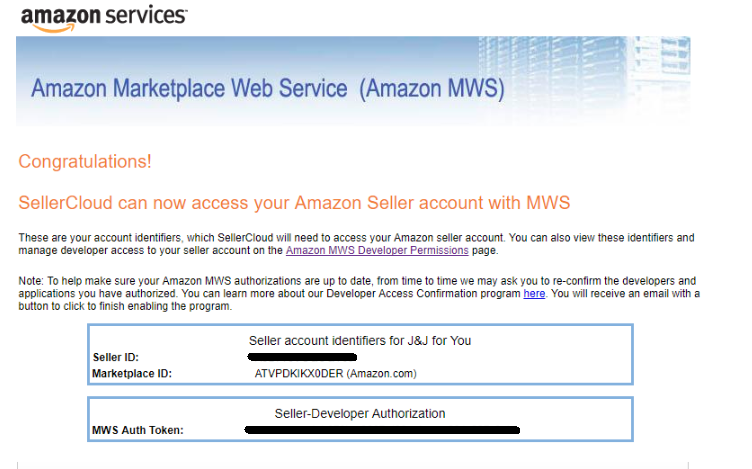 Amazon Account Integration Overview - SellerCloud Help
