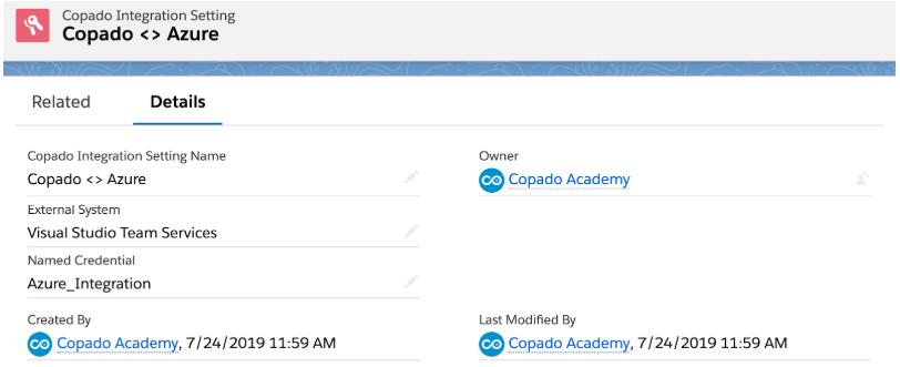 Azure DevOps Setup - Copado Solutions Documentation