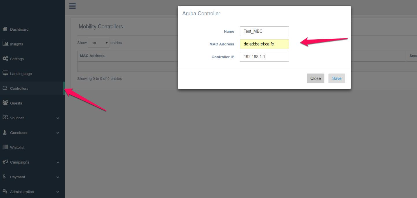 Aruba Hotspot Configuration [ Self Hosted Spotipo] - Enhance your