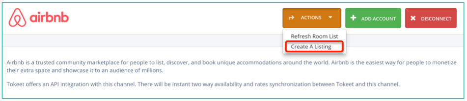 Creating Listings in Airbnb - Tokeet Help | Vacation Rental