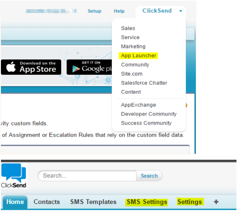 Send SMS with Salesforce - ClickSend Help Docs