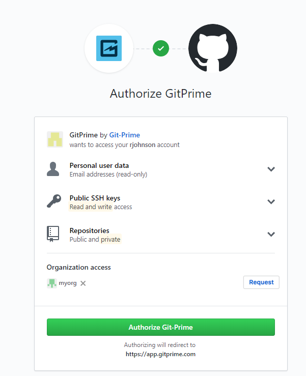 Can I Authorize a Specific GitHub Organization? - GitPrime Help Center