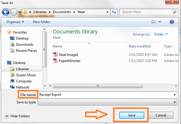 Neat Lightweight App Export to PDF - Step 4