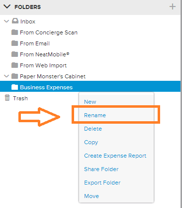 Neat Lightweight App Rename folders - Step 1