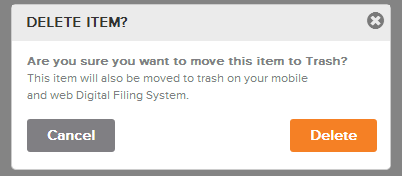 Neat Lightweight App Delete an Item - Step 3