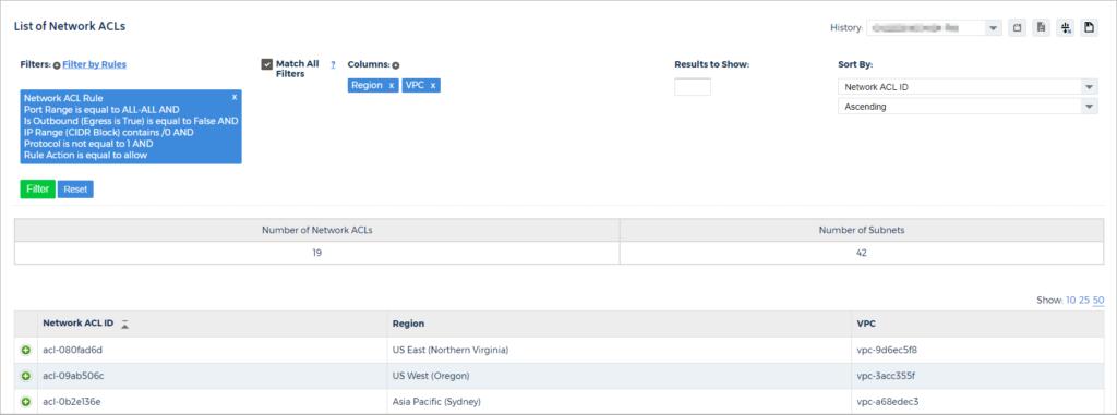 VPC Reports - CloudCheckr Success Center