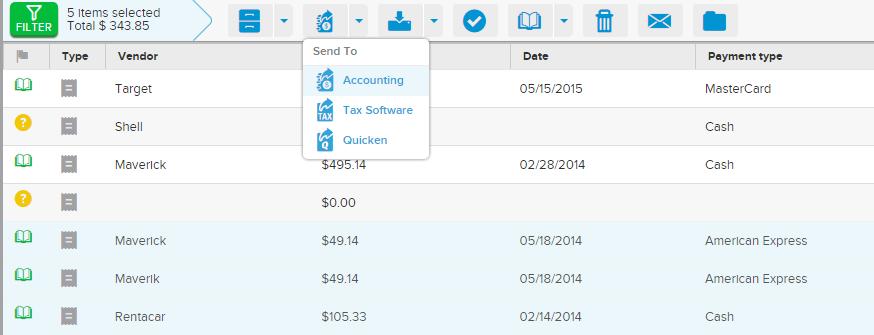 Neat Smart Organization System - Send an Invoice QuickBooks