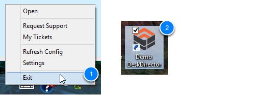 Restart DeskDirector
