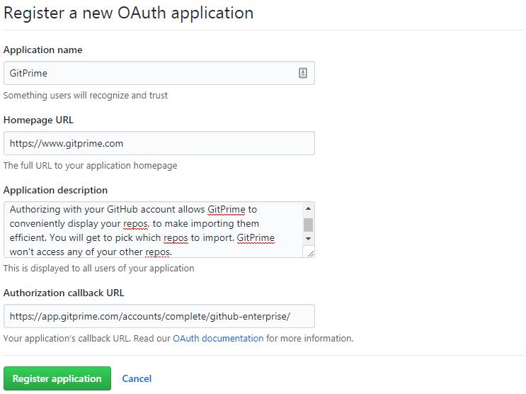 GitHub Enterprise Setup - GitPrime Help Center