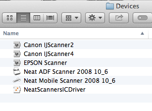 Mac: Reinstalling Scanner Drivers in Neat - Neat HelpCenter