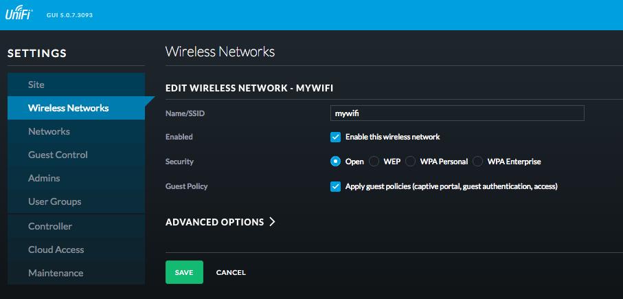 Ubiquiti UniFi Cloud Controller Integration - MyWiFi Networks