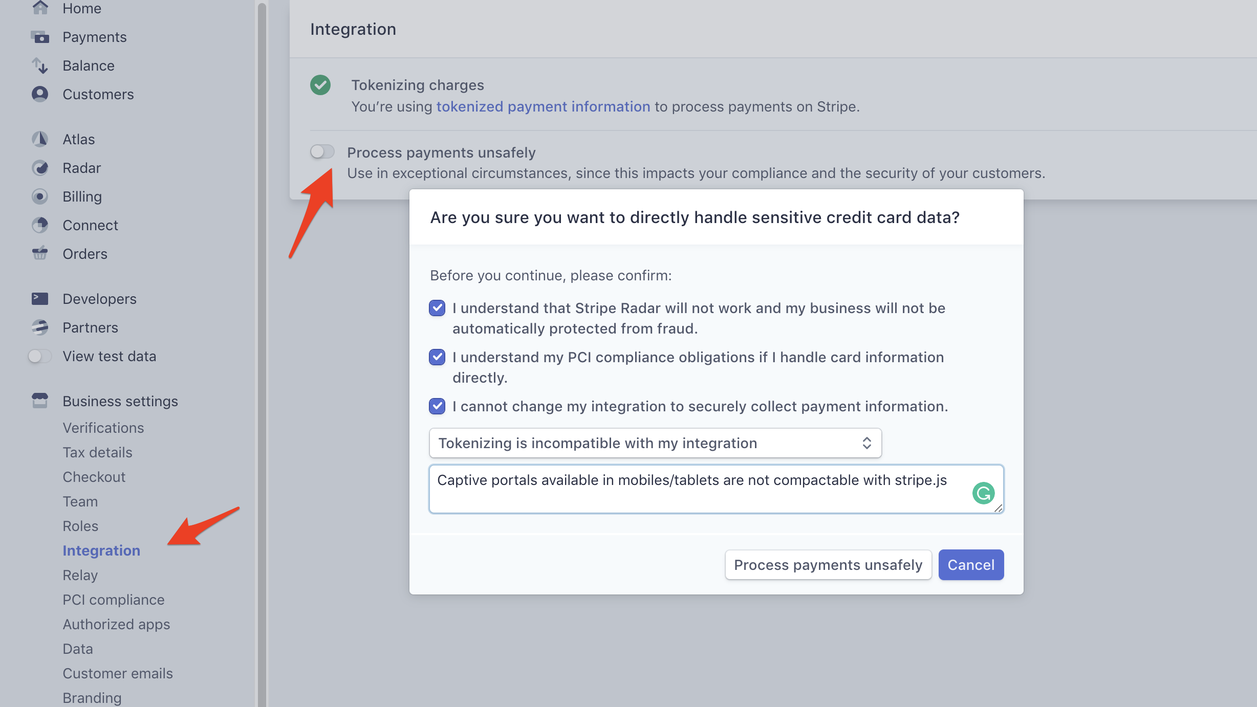 How to create a payment gated hotspot using Stripe - Enhance