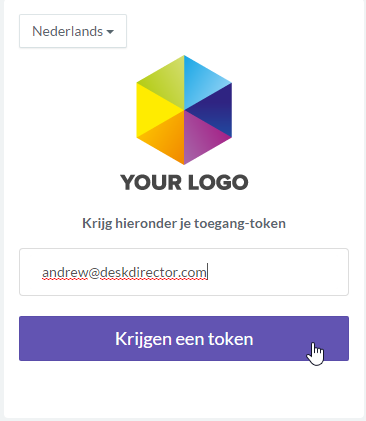 Receiving Translated Token Emails