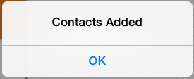 4. Contacts Added Extract