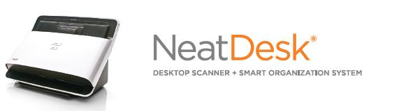 Neat Scanners - neat desk