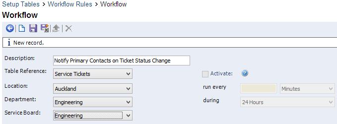 Method 2 - Workflow Rules