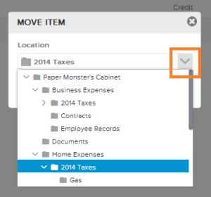 Neat Lightweight App Move an item - Step 5