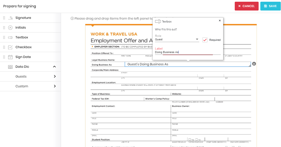 Signature Forms - Tokeet Help | Vacation Rental Management