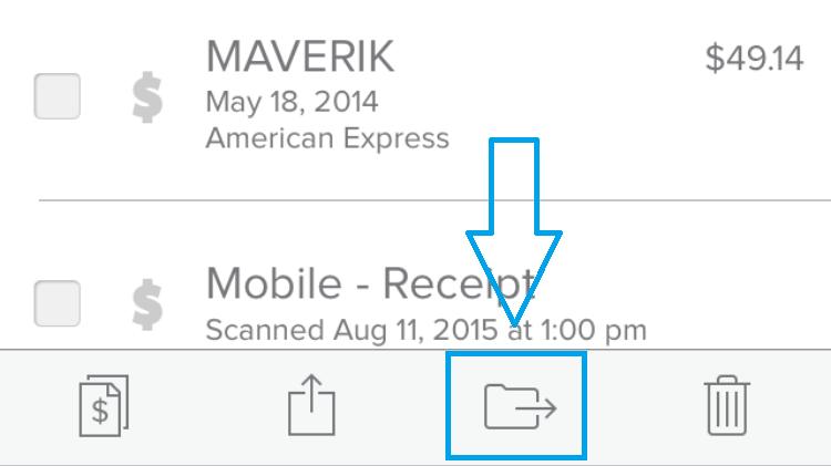 select item move icon