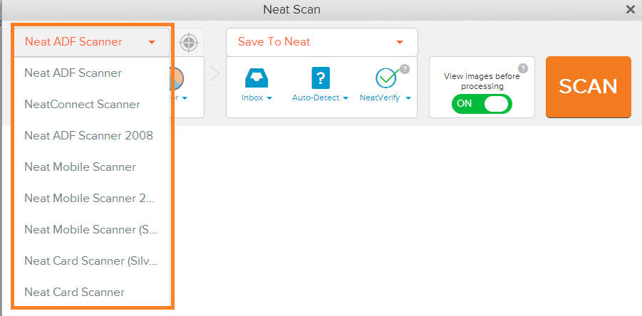 Neat Lightweight App connect multiple scanners - step 3