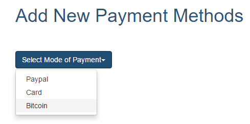 How to add new payment option ? - SwitchVPN Help Center