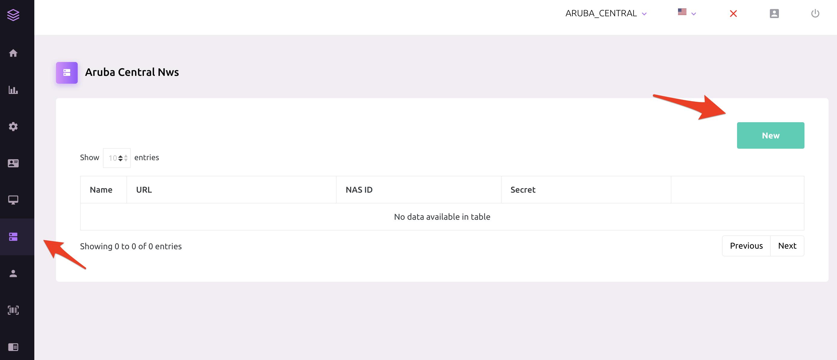 How to configure Aruba Central Hotspot with Spotipo