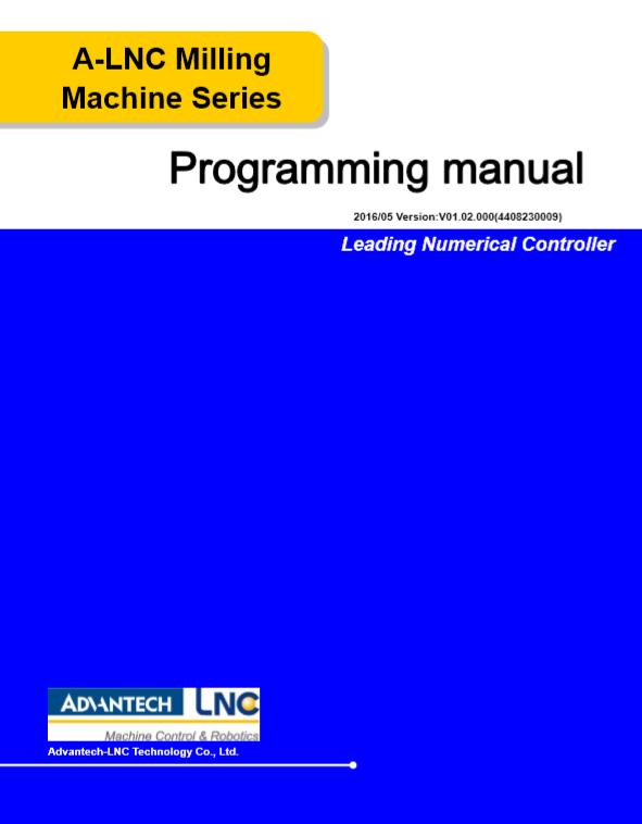 Programming Manual (PDF)