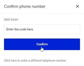 How can I verify my telephone number? - Bitvavo