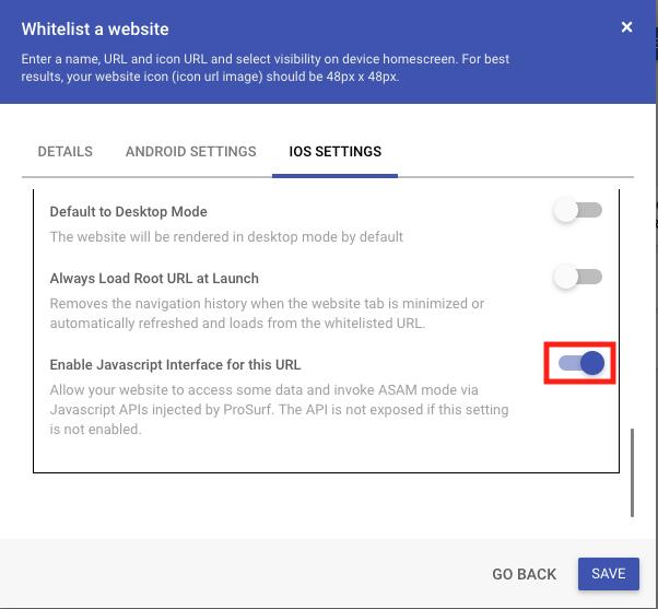 Using Javascript API's from your Website - MobiLock Help