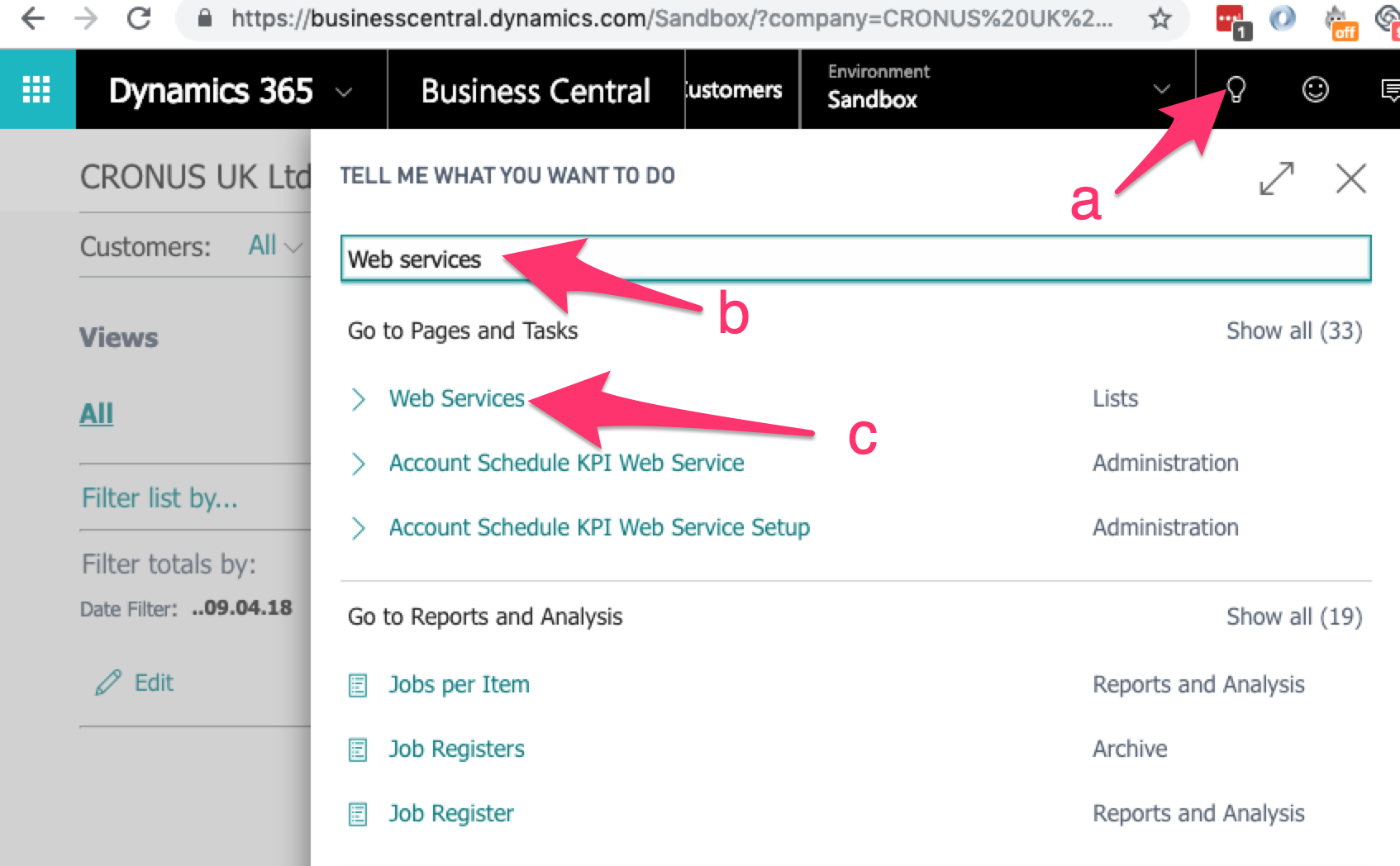 Dynamics 365 Business Central Authentication - PieSync Help