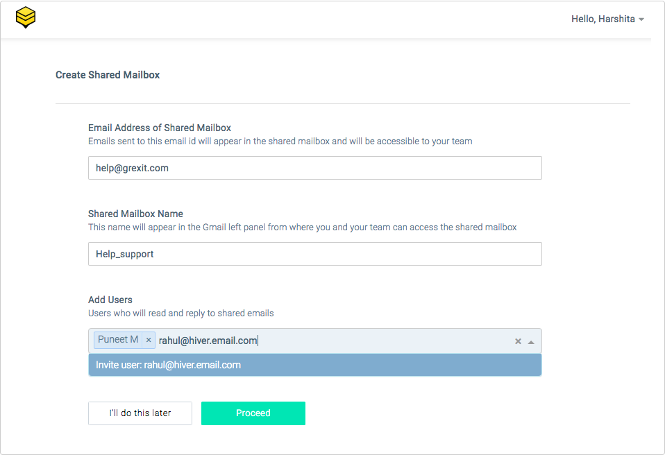 Setting Up a Shared Mailbox - Knowledge Base - Hiver