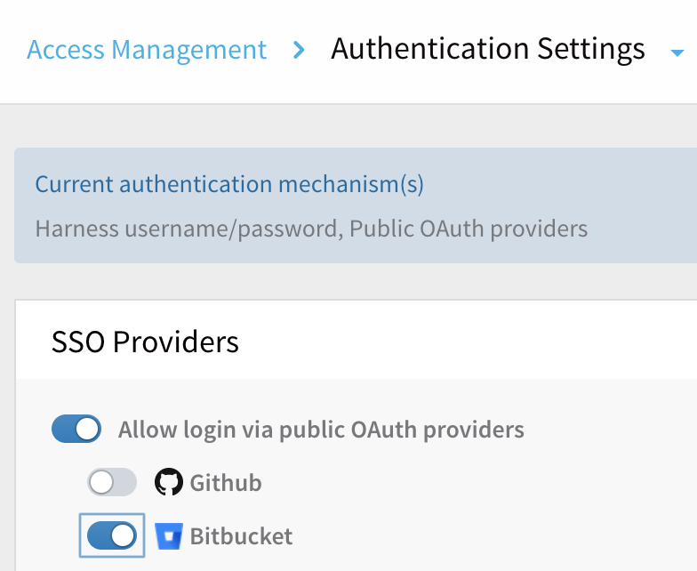 Single Sign-On (SSO) with OAuth 2 0 - Harness io Docs