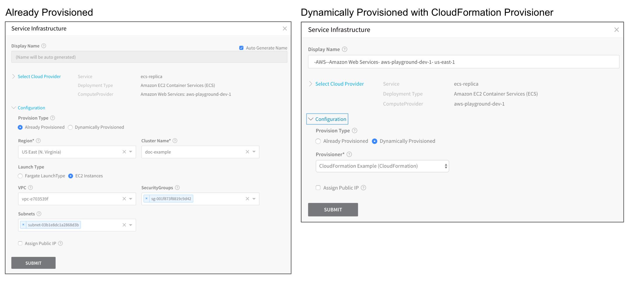 CloudFormation Provisioner - Harness io Docs