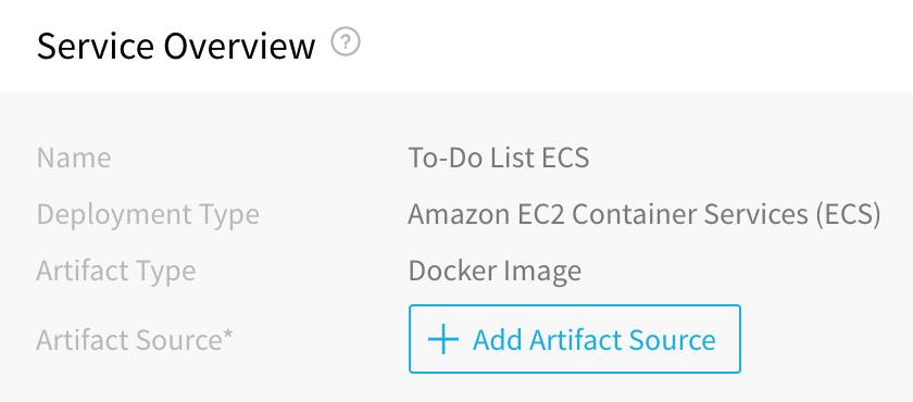 3 - ECS Services - Harness io Docs