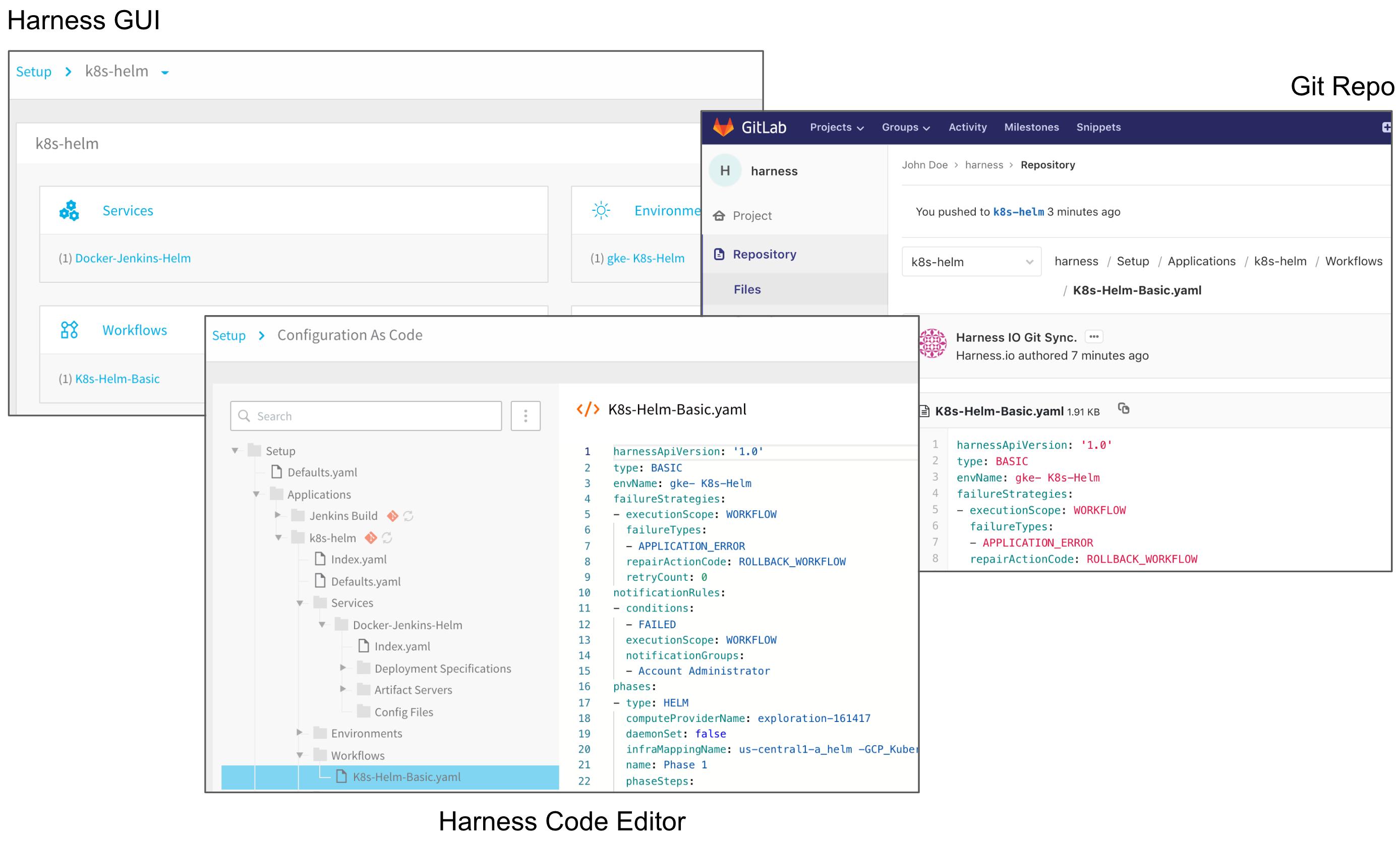 Configuration as Code - Harness io Docs